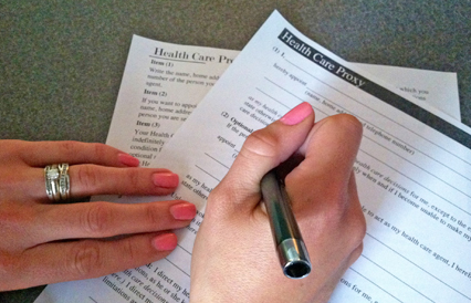 Complete Your Health Care Proxy Form On National Health Care Decision Day,  April 16